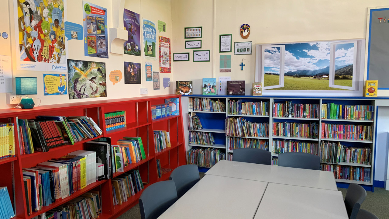 St Botolphs School Library refurbishment