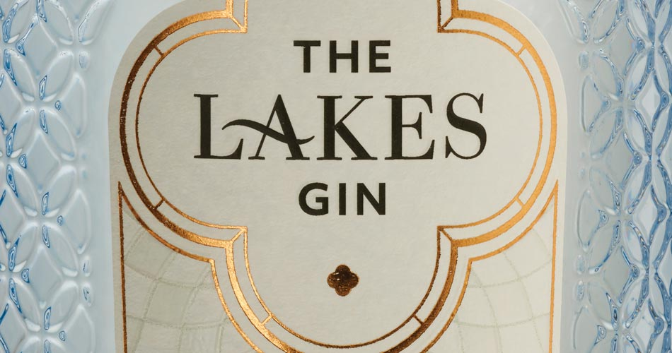 The Lakes Gin Bottle