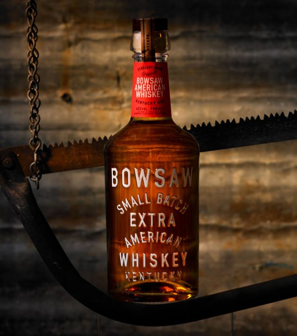 Bowsaw Whiskey Bottle