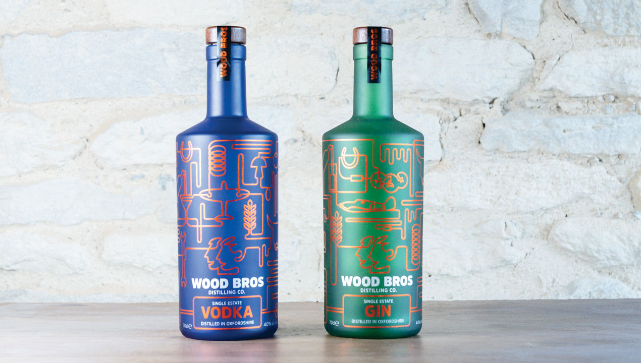 Wood Brothers gin